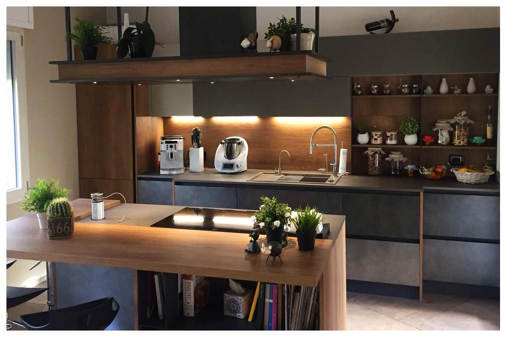 Architettamy progetto cucina arredamento monte amiata 01 for Arredamento grosseto