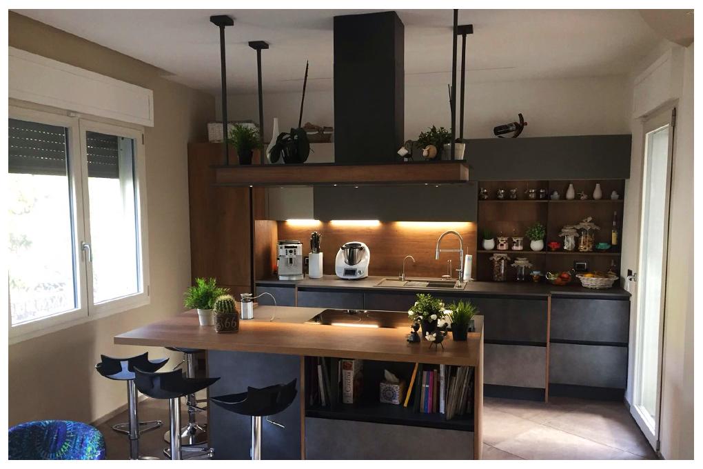 Architettamy progetto cucina arredamento monte amiata 02 for Arredamento grosseto
