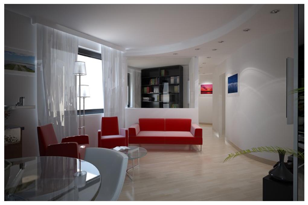 Progetti clienti arredo restyling appartamento 01 for Appartamento interior design